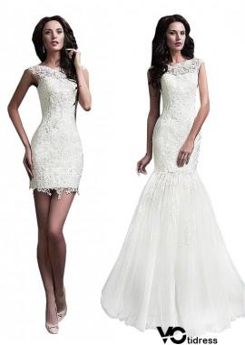 Votidress Beach Short Wedding Dresses