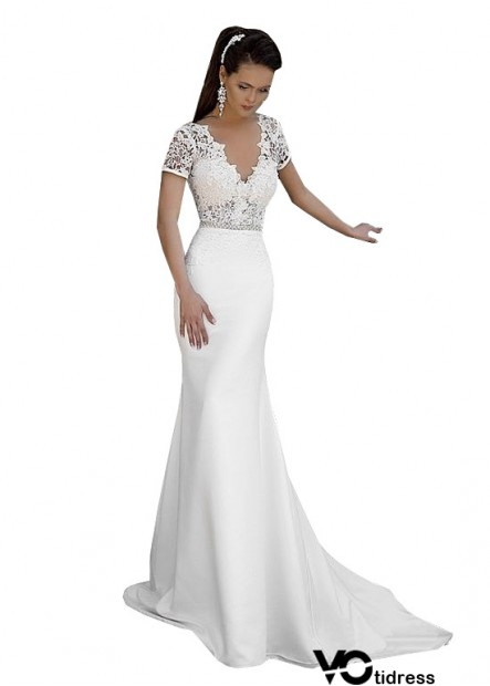 Votidress Fishtail Beach Wedding Dresses