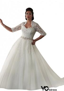 Votidress Plus Size Wedding Dress