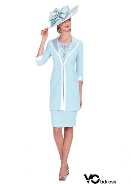 Votidress Blue Mother Of The Bride Dress With Jacket Sale Online
