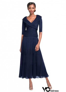 Votidress Navy Mother Of The Bride Dress UK