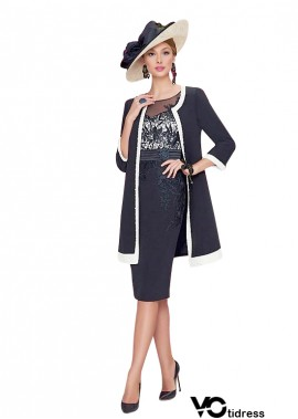 Votidress Navy Blue Mother Of The Bride Dress With Outfits