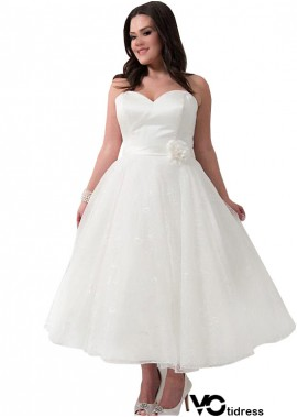 Votidress Short Plus Size Wedding Dress