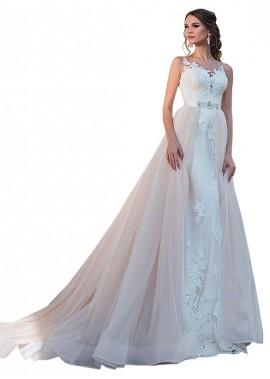 Votidress Beach Wedding Ball Gowns