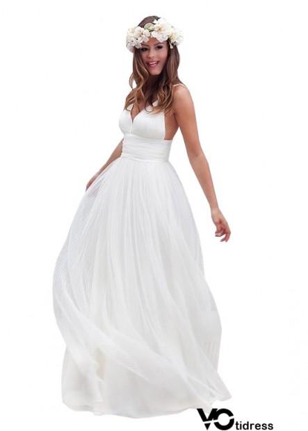A line Beach Wedding Dress Sale
