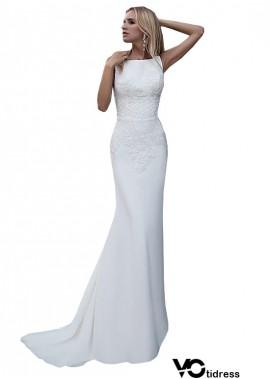 Votidress Casual Simple Beach Cheap Wedding Dresses