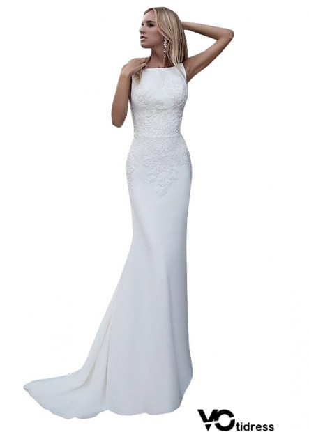 Votidress Casual Simple Beach Cheap Wedding Dresses