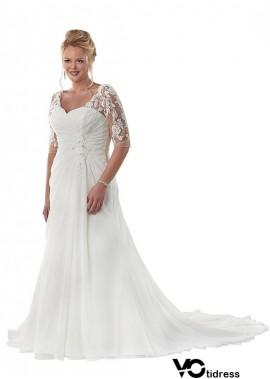 Votidress Beach Plus Size Wedding Dresses
